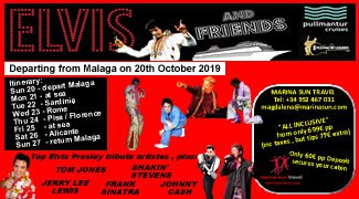 ELVIS AND FRIENDS CRUISE